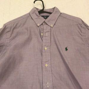 Ralph Lauren Polo - Classic Fit - Medium - Purple